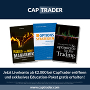 CapTrader: Education-Paket plus Senkung der Ersteinzahlungssumme