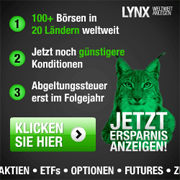 LYNX Broker Neukundenaktion