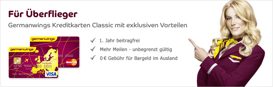 Germanwings Kreditkarten Classic