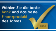 BankingCheck Award 2016 | Banner 180x100 - Version 1