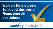 BankingCheck Award 2016 | Banner 180x100 - Version 2