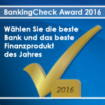 BankingCheck Award 2016 | Banner 250x250 - Version 1