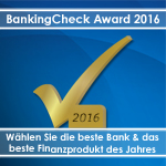 BankingCheck Award 2016 | Banner 250x250 - Version 2