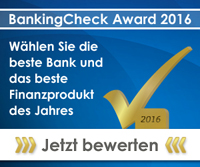 BankingCheck Award 2016 | Banner 300x250 - Version 1