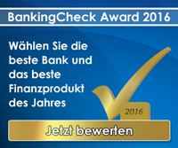 BankingCheck Award 2016 | Banner 300x250 - Version 2