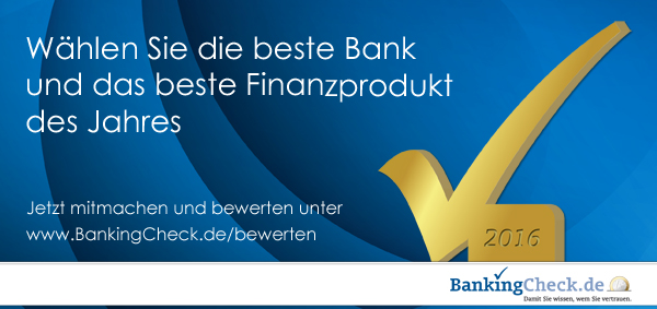 Flyer BankingCheck Award 2016