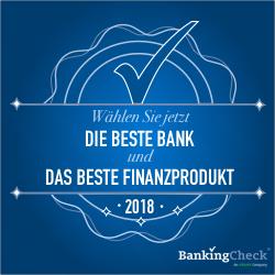 Start der Abstimmungsperiode für die BankingCheck und eKomi Awards 2018
