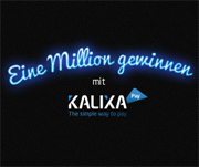 "Kalixa Pay Aktion ""Eine Million gewinnen"""