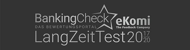 BankingCheck und eKomi Langzeittest