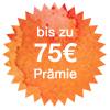 Bis zu 75€-Willkommensprämie für Neukunden bei WeltSparen